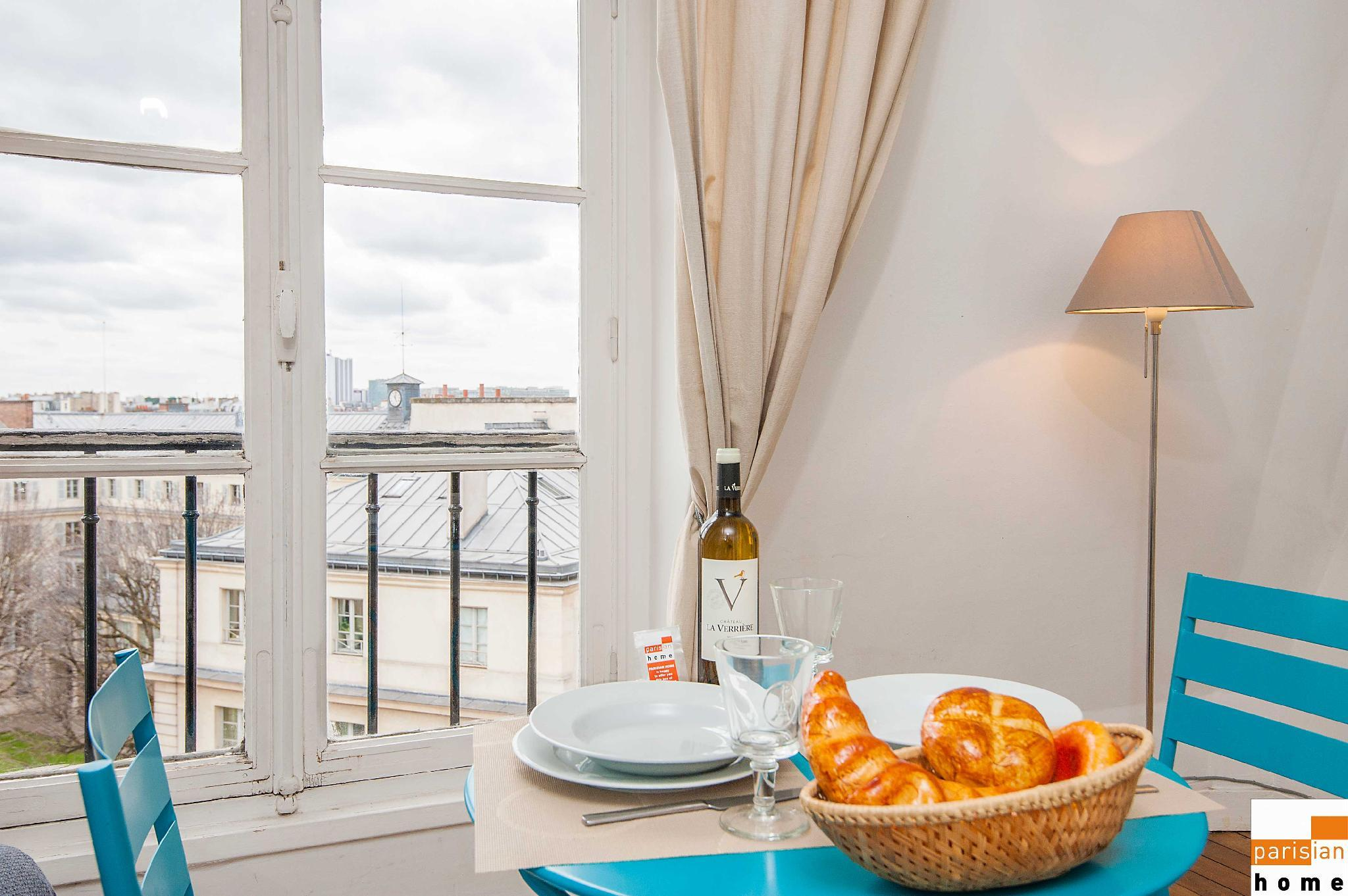 S05006 - Charming studio for 2 people in the Latin Quarter