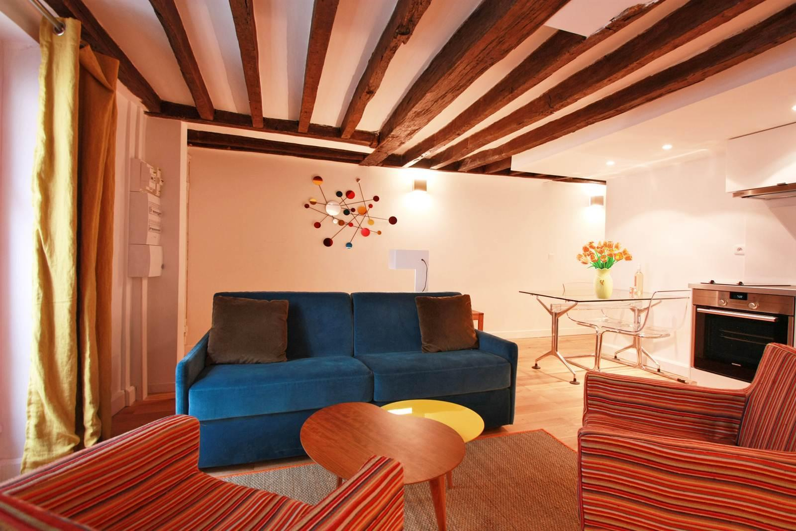 202432 - Beautiful apartment for 6 people, in the center of Paris