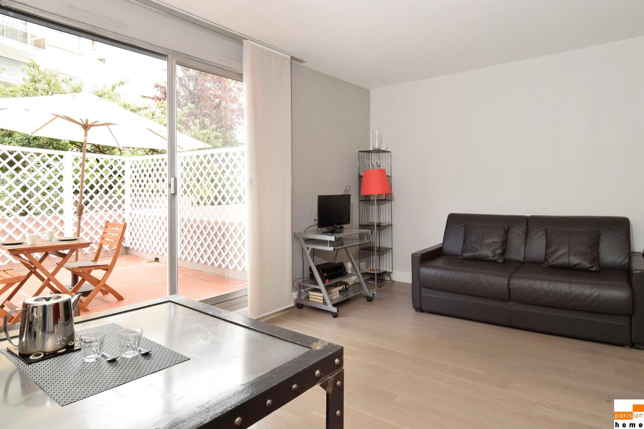S15177 - Warm studio for 2 people in the Montparnasse area