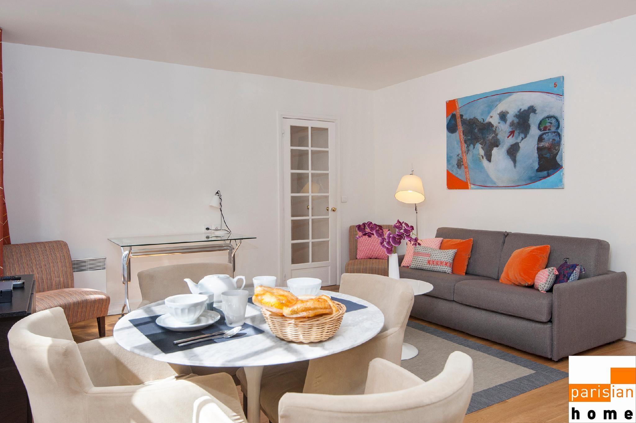 107404 - Warm and modern apartment for 4 people near the Eiffel Tower