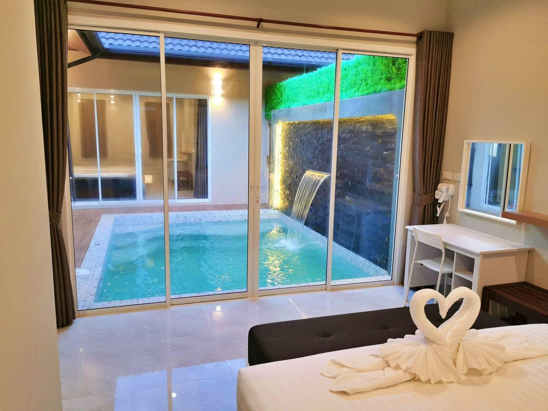 The Apex private pool villa Krabi Connecting villa วิลลา 4 ห้องนอน 4 ห้องน้ำส่วนตัว ขนาด 60 ตร.ม. – บ้านทรายไทย