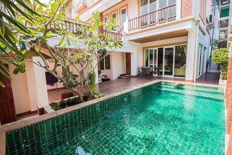 4 Bedroom Pool Villa 2  km from Walking street วิลลา 3 ห้องนอน 3 ห้องน้ำส่วนตัว ขนาด 200 ตร.ม. – เขาพระตำหนัก