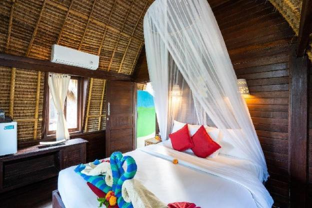 Dream Beach Kubu ( Deluxe Hut Garden View )
