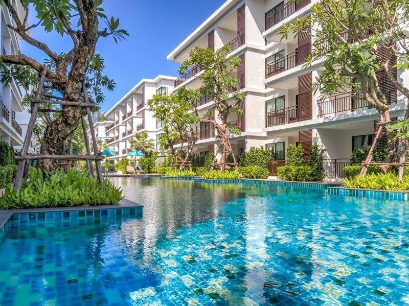 Studio Pool Access Apt. Near Rawai Seafood Market อพาร์ตเมนต์ 1 ห้องนอน 1 ห้องน้ำส่วนตัว ขนาด 25 ตร.ม. – หาดราไวย์