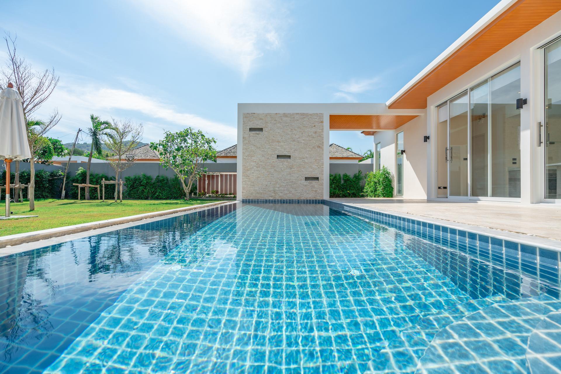 Signature Pool Villa near Beach 4 Bedrooms วิลลา 4 ห้องนอน 4 ห้องน้ำส่วนตัว ขนาด 200 ตร.ม. – ในหาน