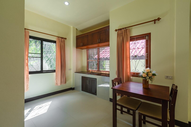 Ao-Nang,Free WIFI,Private Room,Krabi1 (Queen bed) วิลลา 1 ห้องนอน 1 ห้องน้ำส่วนตัว ขนาด 45 ตร.ม. – อ่าวน้ำเมา