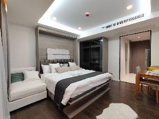 [スクンビット]アパートメント(35m2)| 1ベッドルーム/1バスルーム Bangkok&Pool&BTS Asoke&MRT Sukhumvit&Max3ppl