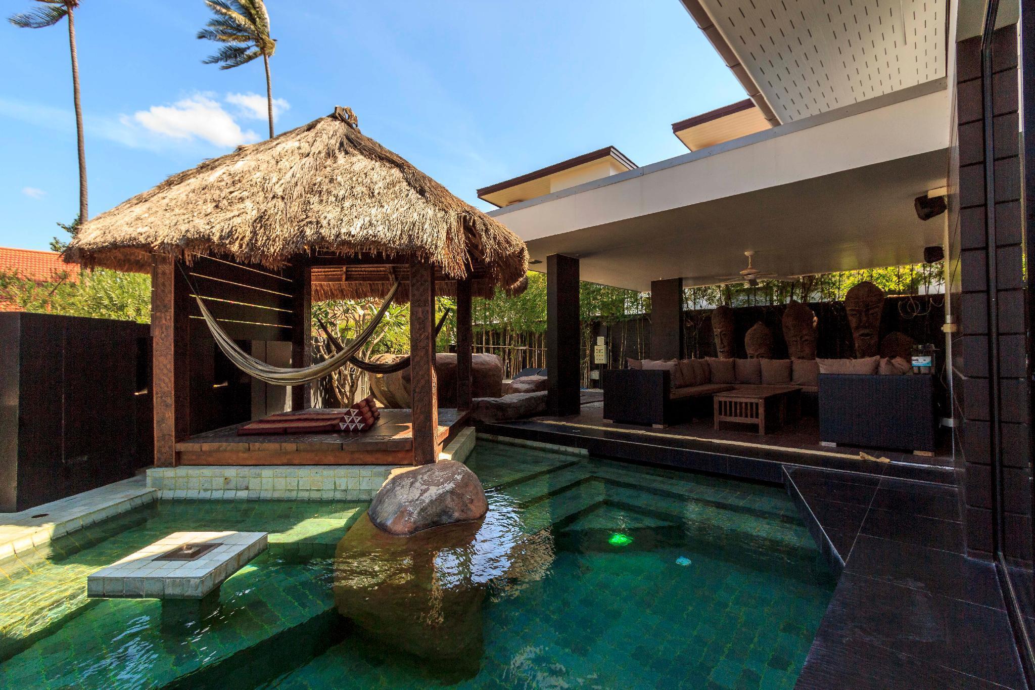 Modern pool villa - Malee Beach Villa F5 วิลลา 3 ห้องนอน 2 ห้องน้ำส่วนตัว ขนาด 190 ตร.ม. – หาดพระแอะ
