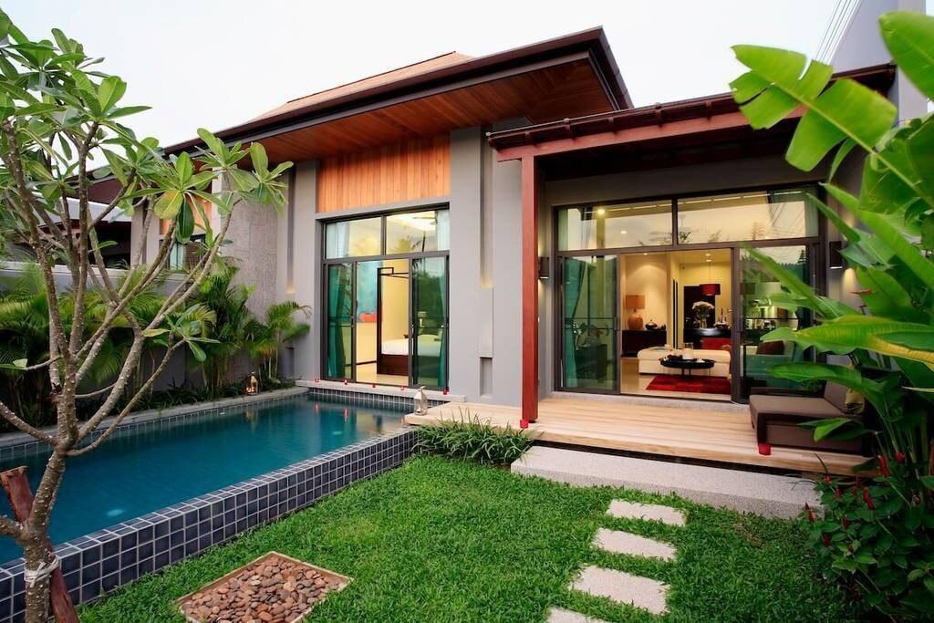 Onyx Villa Naiharn Beach - 2 BR private pool [VW]