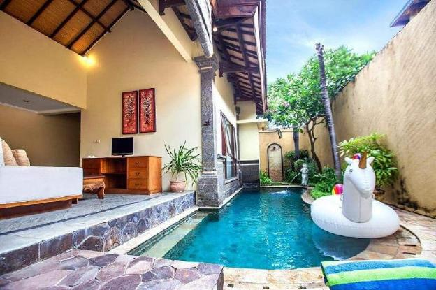1 BRoom Clasic Private Pool Villa In Seminyak