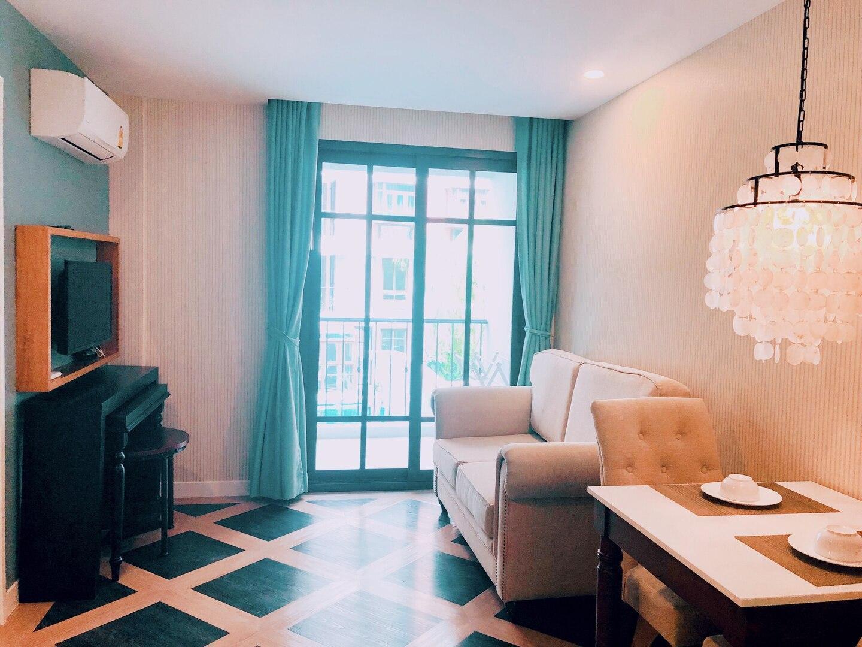 Espana 1Bedroom Luxury  City View 1 1 ห้องนอน 1 ห้องน้ำส่วนตัว ขนาด 35 ตร.ม. – หาดจอมเทียน