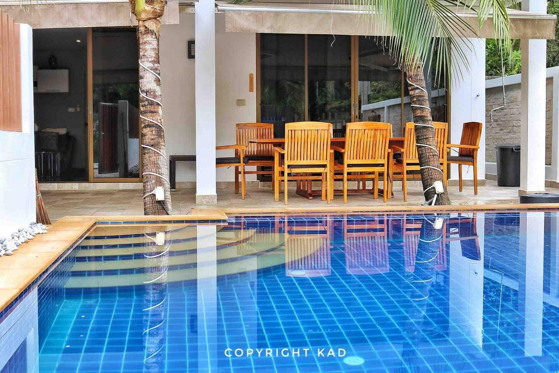 Oasis Beach Villa 60 meters from beach 3 ห้องนอน 2 ห้องน้ำส่วนตัว ขนาด 75 ตร.ม. – หาดระยอง