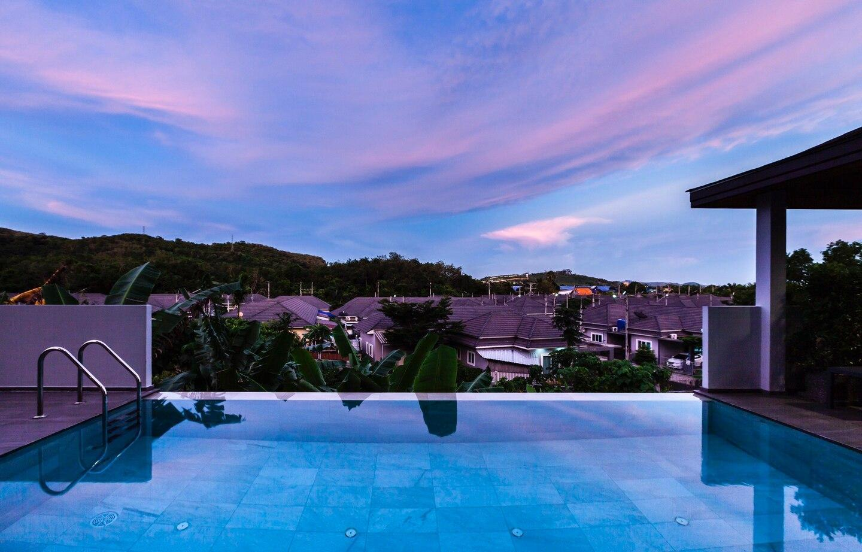700sqm Modern Style Boutique Pool Villa 4 Bedroom วิลลา 4 ห้องนอน 4 ห้องน้ำส่วนตัว ขนาด 480 ตร.ม. – ฉลอง