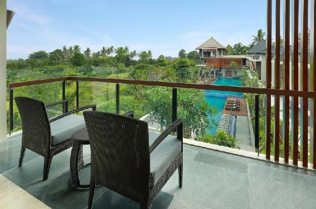 1BR Fine Villa Huge Pool close to Monkey Forest