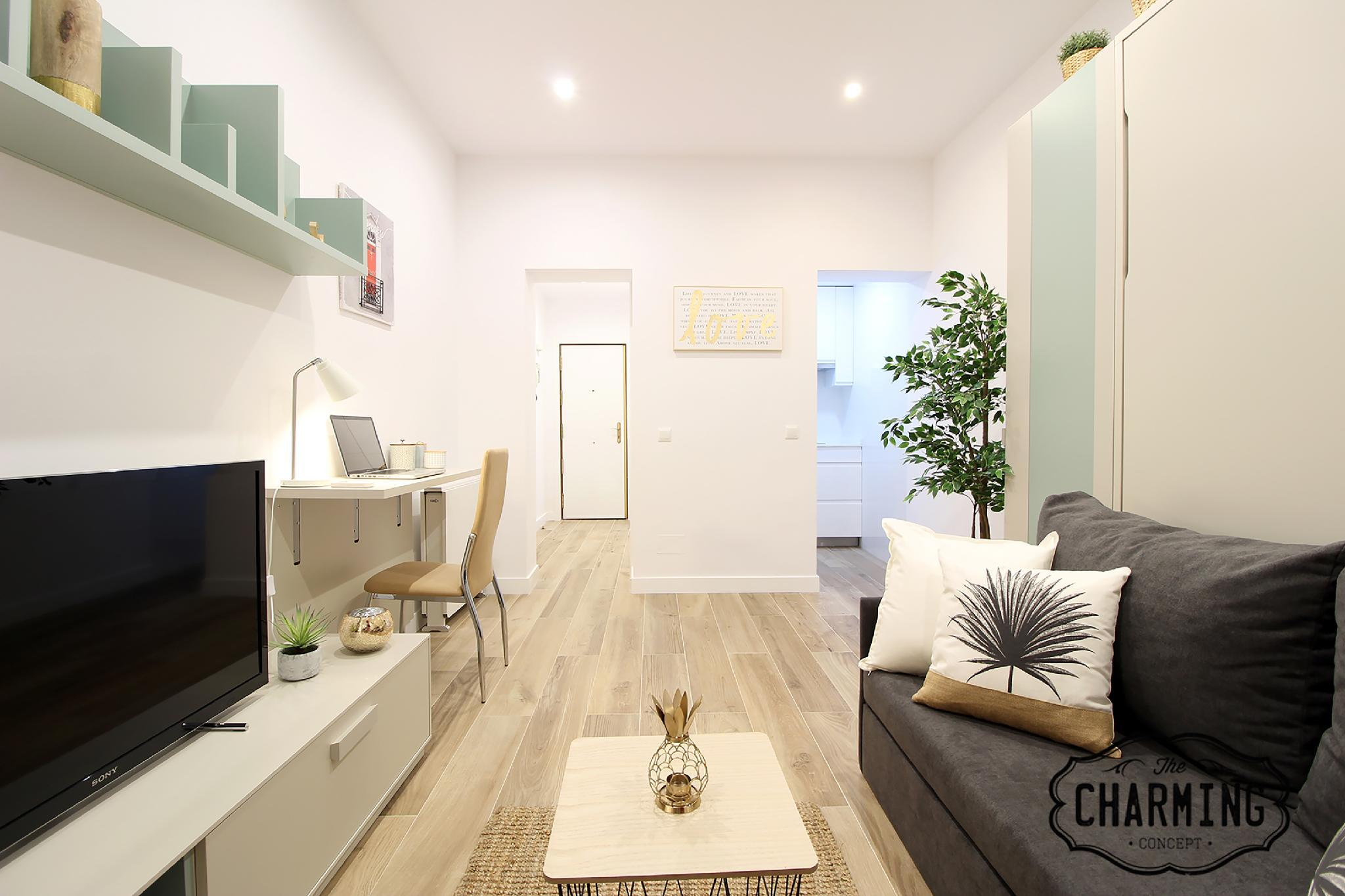 Charming Puerta del Sol - Newly Refubished Studio