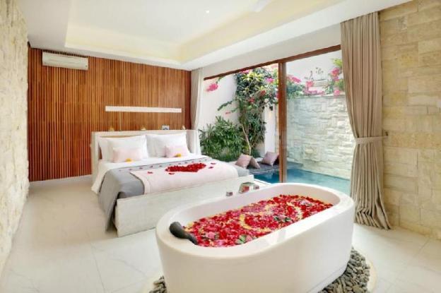 One BR Villa Private Pool+Bathtub-Breakfast LVV