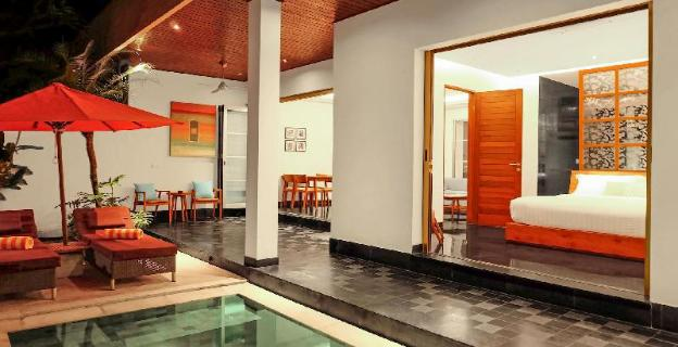 Two BR Villa with Private Pool-Breakfast|SIB
