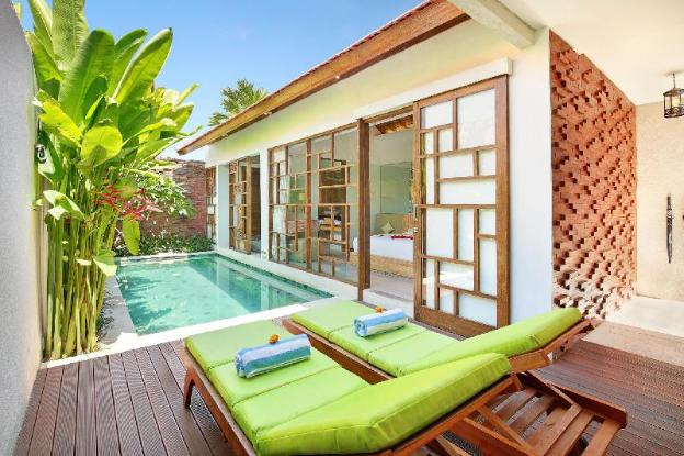 One BR Private Pool & Bathtub-Breakfast|MV