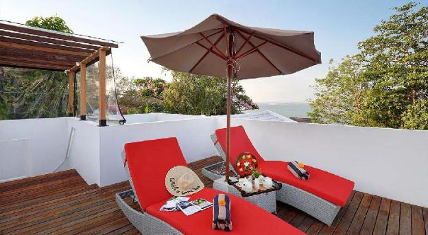 OneBR Villa with Private Pool andBathtub-Breakfast