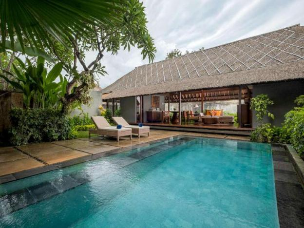 Natural Pool Villa 4BR -Free Breakfast
