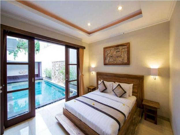 3BR Luxury View Pool Villa+Breakfast Seminyak Area