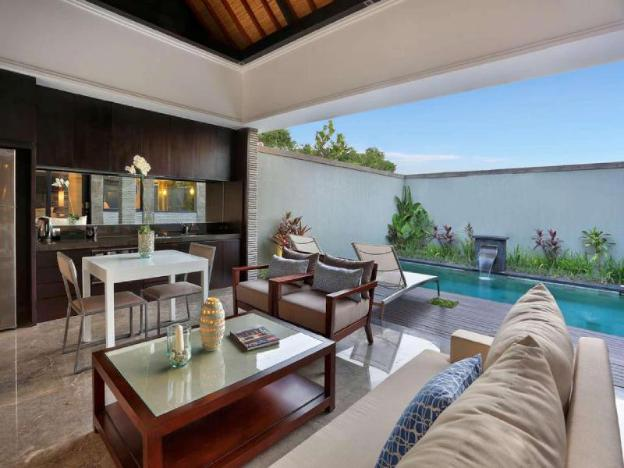 1BR Luxury Pool Villa+wifi+kitchen+American B'fast