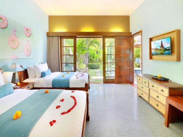 1 BR Tranquil Private Pool Villa+Breakfast+Kitchen