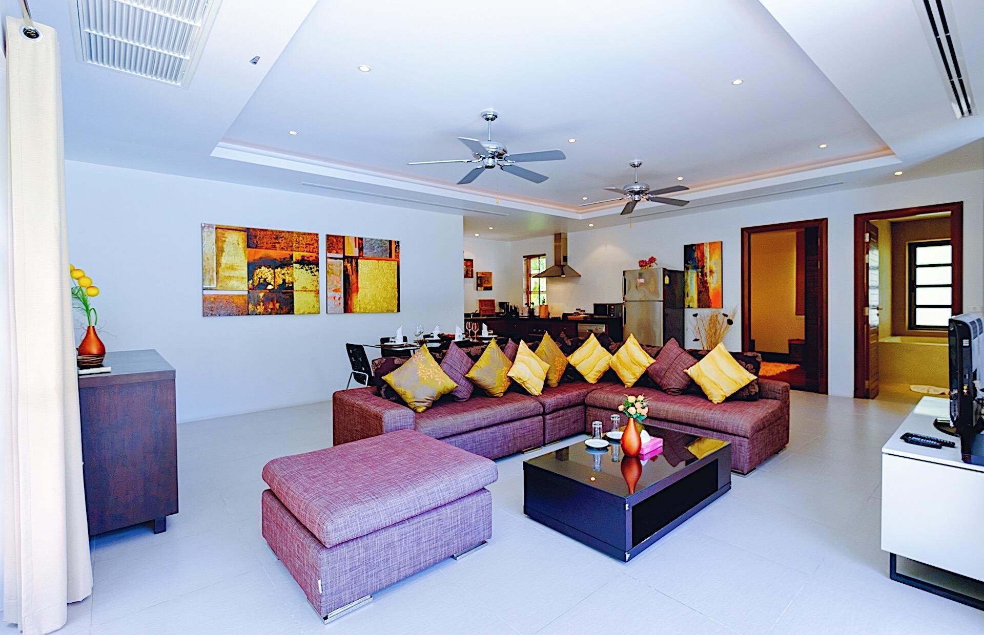 Perfect 2br Pool Villa In Residence Bangtao Beach1