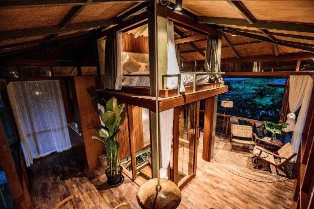 NEW Treehouse in Canggu - rice field views (Pina)
