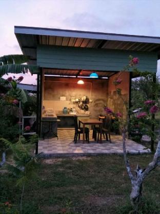[プーケット空港周辺]バンガロー(150m2)| 1ベッドルーム/1バスルーム Baan Rom Pruk, private house 2, near Naiyang beach