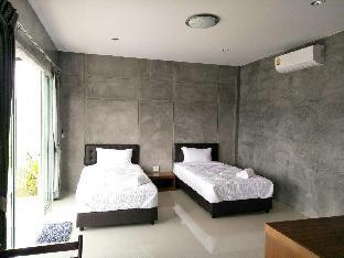 [プーケット空港周辺]バンガロー(150m2)| 1ベッドルーム/1バスルーム Baan Rom Pruk, Twin beds Bungalow,  Naiyang beach