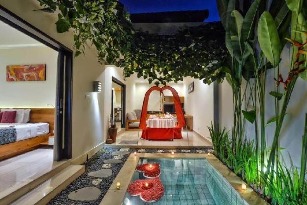 Onebedroom private plunge pool villa
