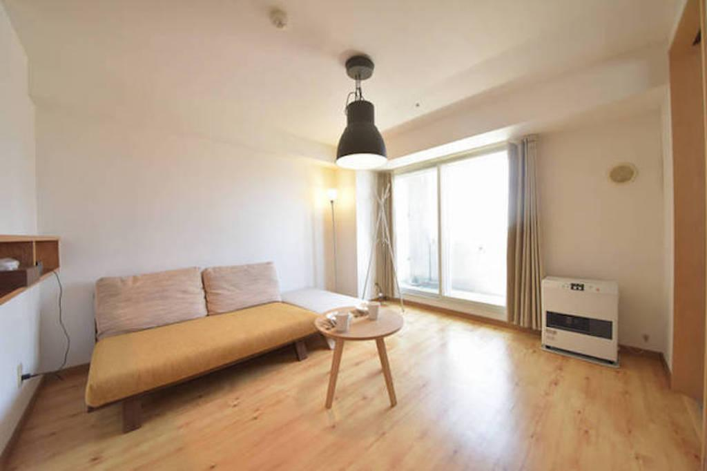 A1306 1 Bedroom Apartment In Sapporo