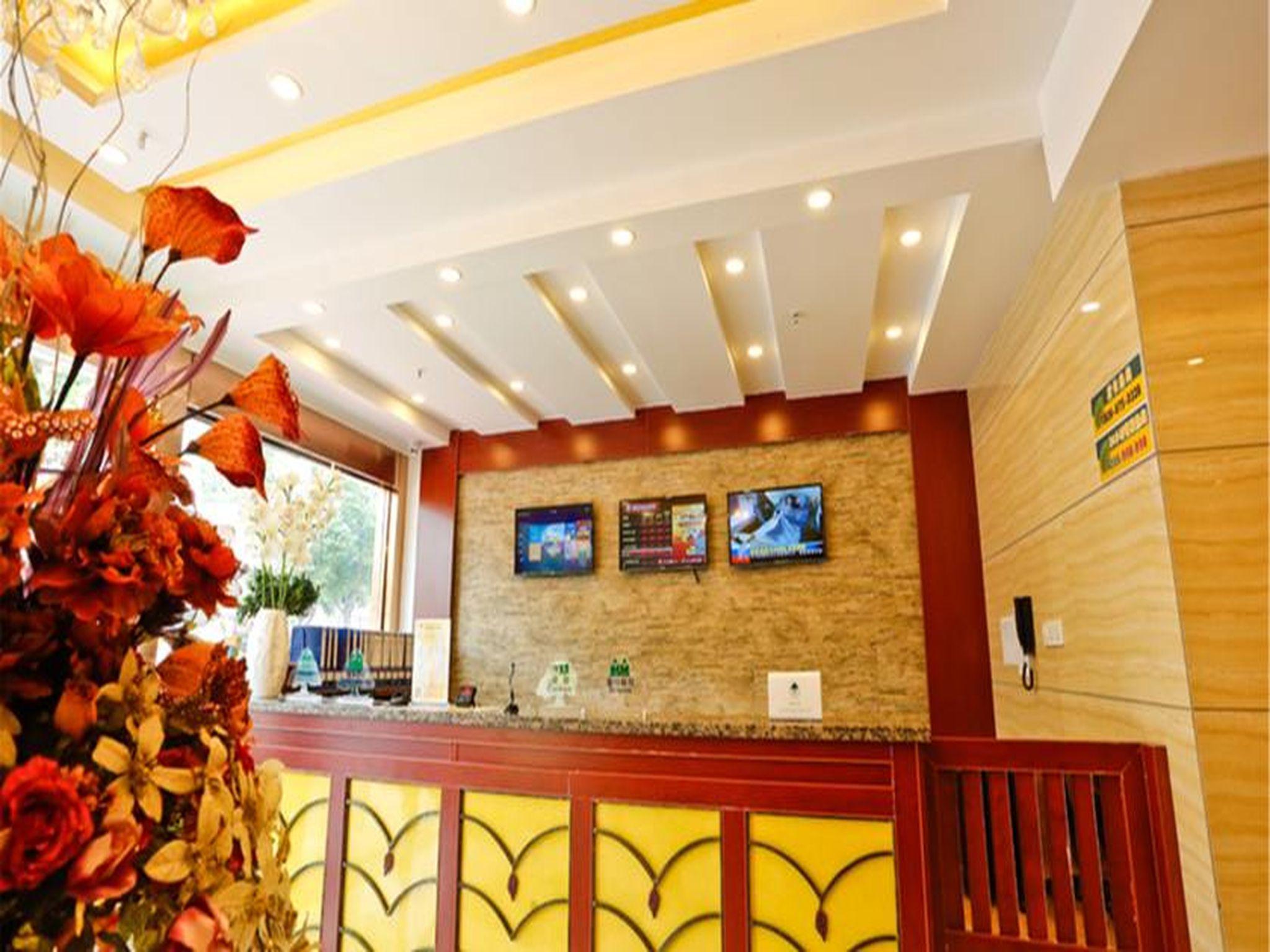 GreenTree Inn Suzhou Changshu Xinzhuang Town Qingfang Garden Express Hotel