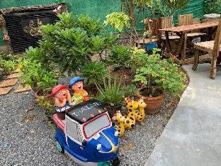 [Thonburi]一軒家(20m2)| 1ベッドルーム/1バスルーム Bangkok homestay near MRT,double,free wifi,parking