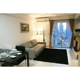 [スクンビット]アパートメント(45m2)| 1ベッドルーム/1バスルーム Asoke x Petchburi AirportLink+MRT 450 m 3 min walk
