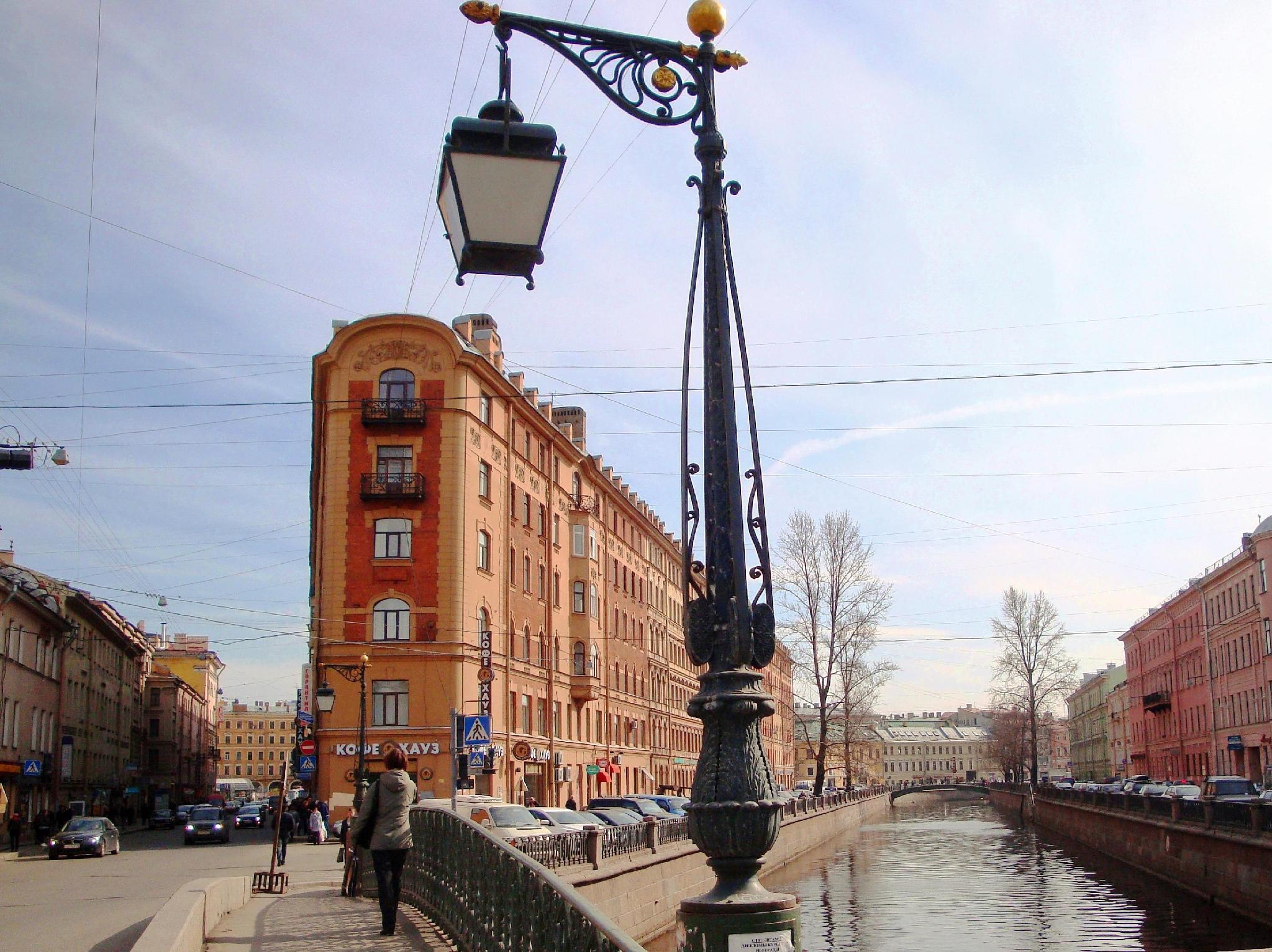 Quart Apart Griboyedovskyi Canal