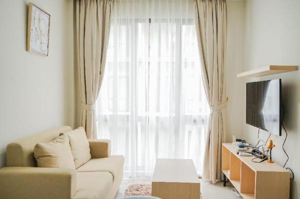 Elegant and Relaxing 1BR Asatti BSD By Travelio Tangerang