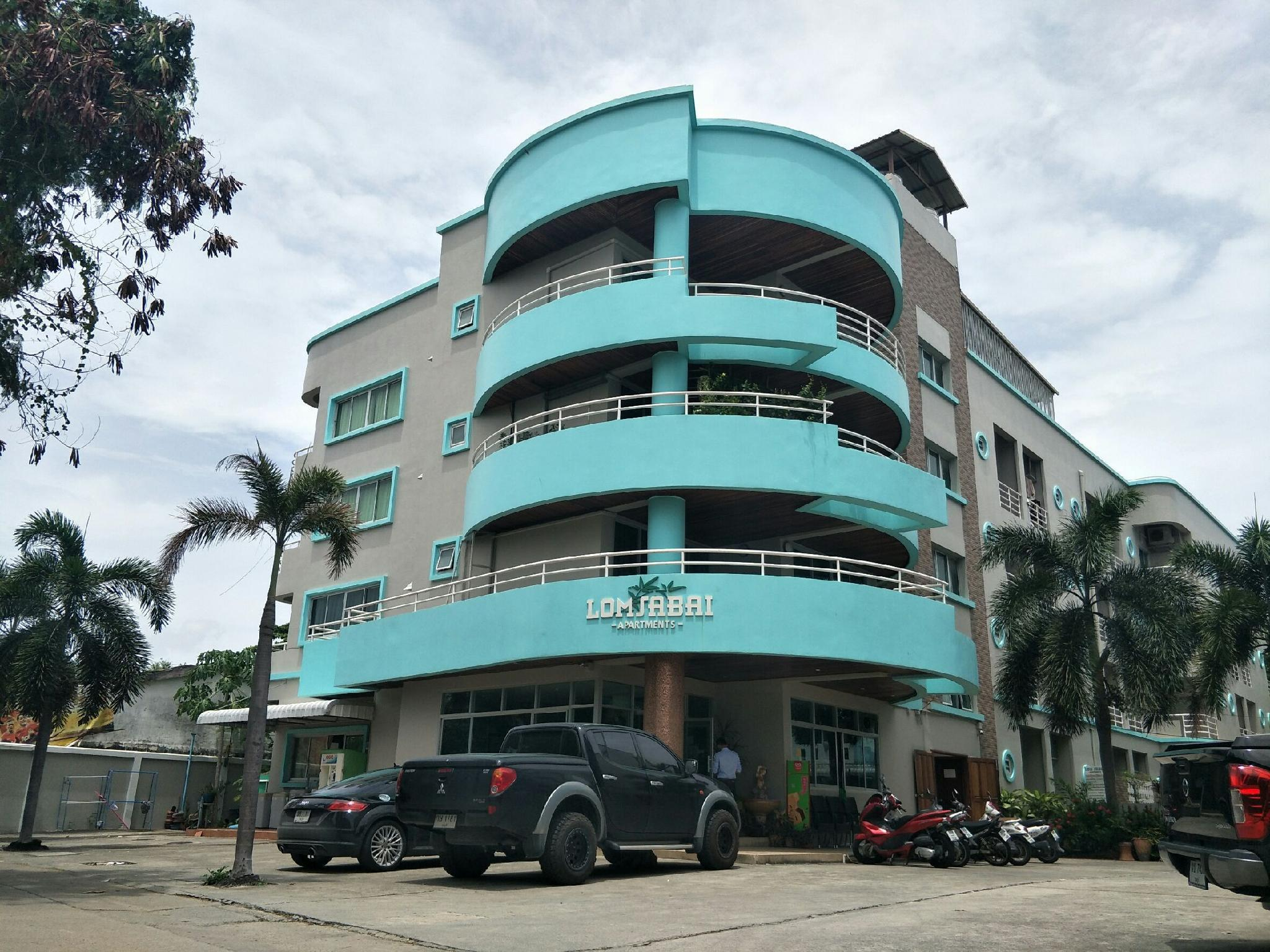 Lomsabai Apartments Chon Buri ลมสบาย อพาร์ตเมนต์ ชลบุรี