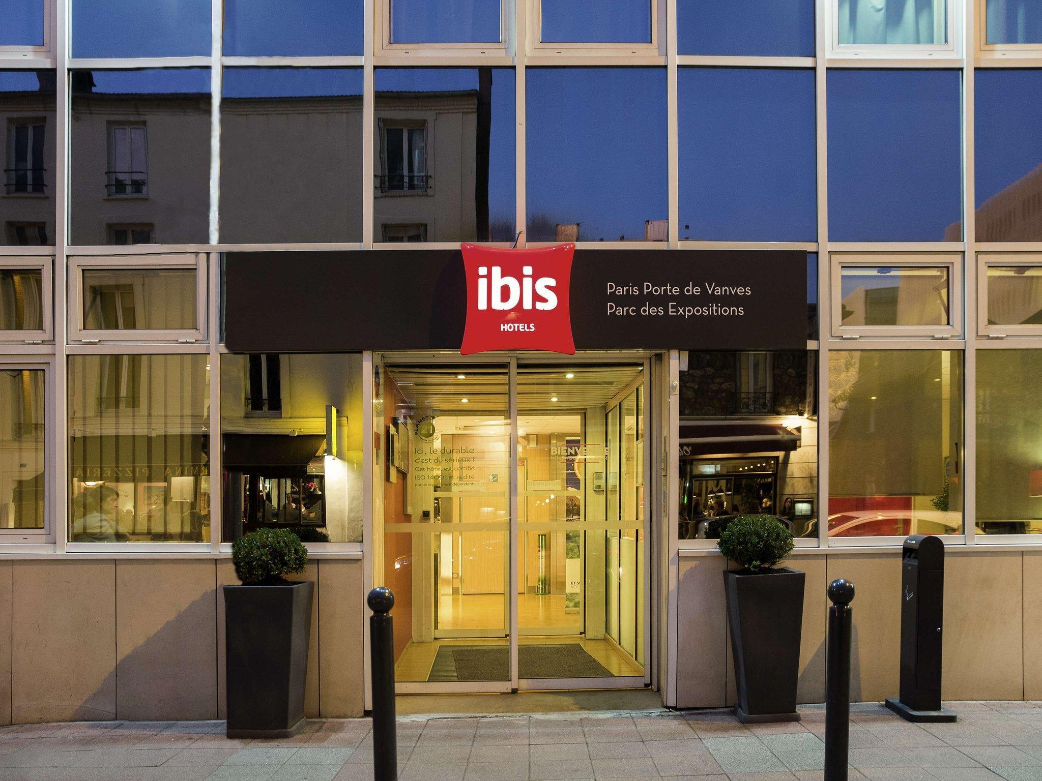 Ibis Paris Porte De Vanves Parc Des Expositions