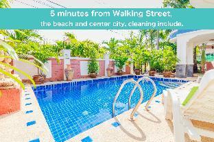 %name Pool villa 5 bedrooms near walking street & beach พัทยา
