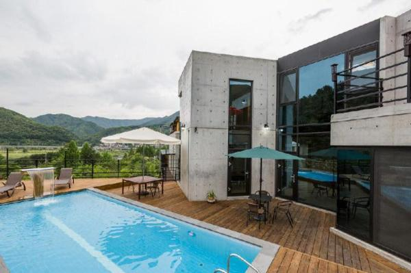 Asamo poolvilla Gapyeong-gun