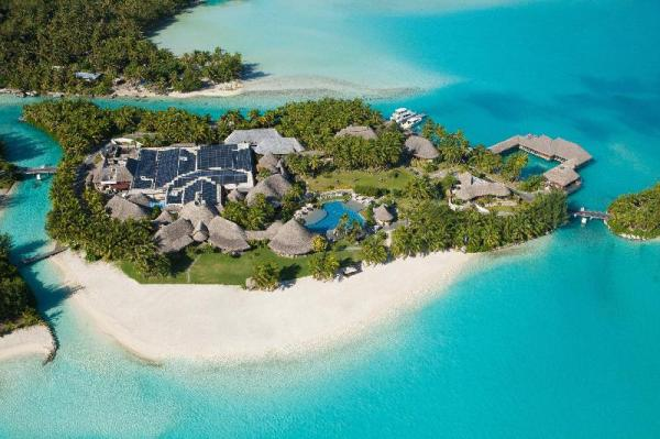 The St Regis Bora Bora Resort Bora Bora Island French