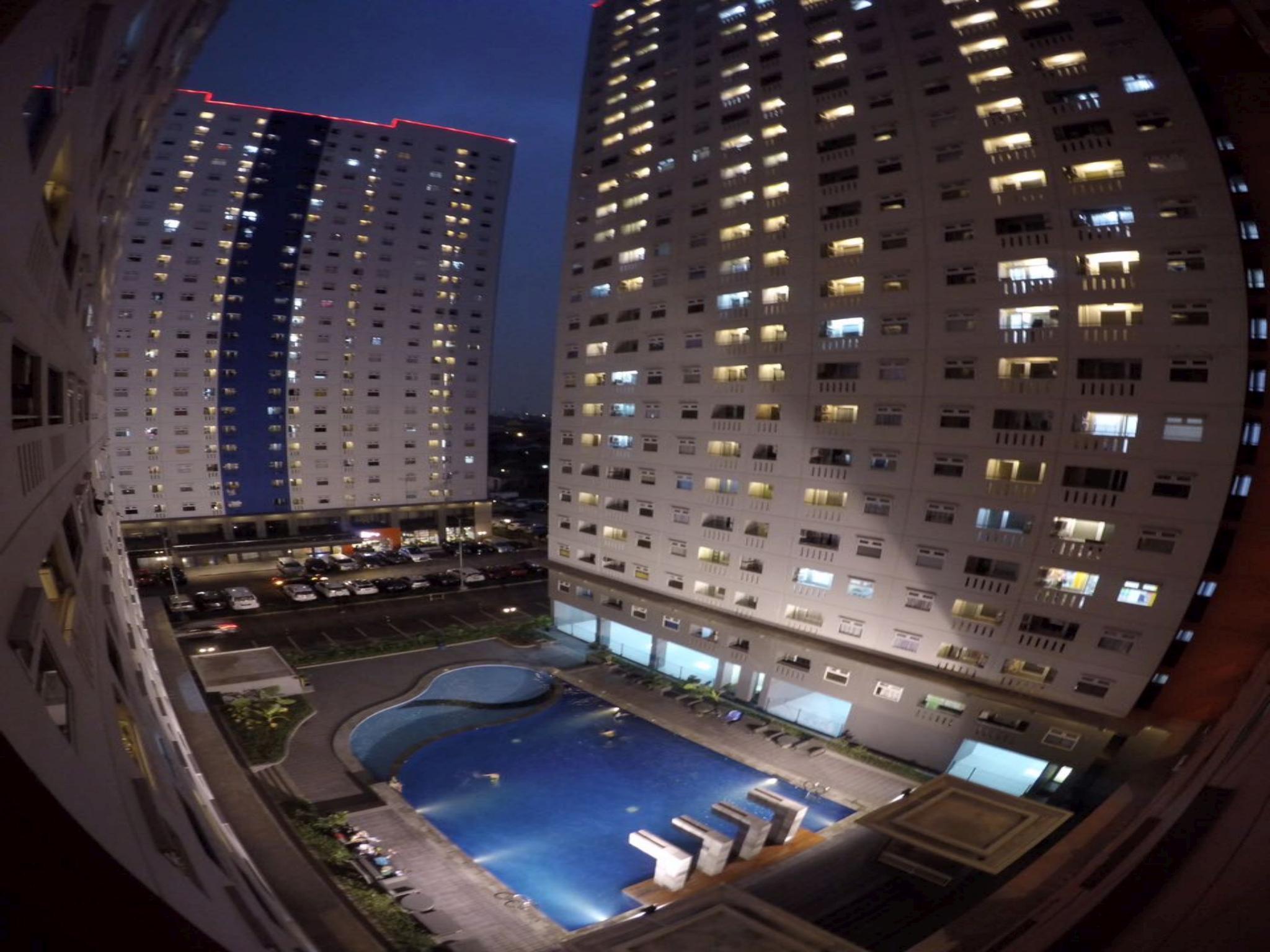 Green Pramuka 2BR Apartment BG08HK By Apartmurah