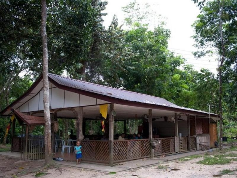 Gua Longhouse Chalet Miri Malaysia Overview