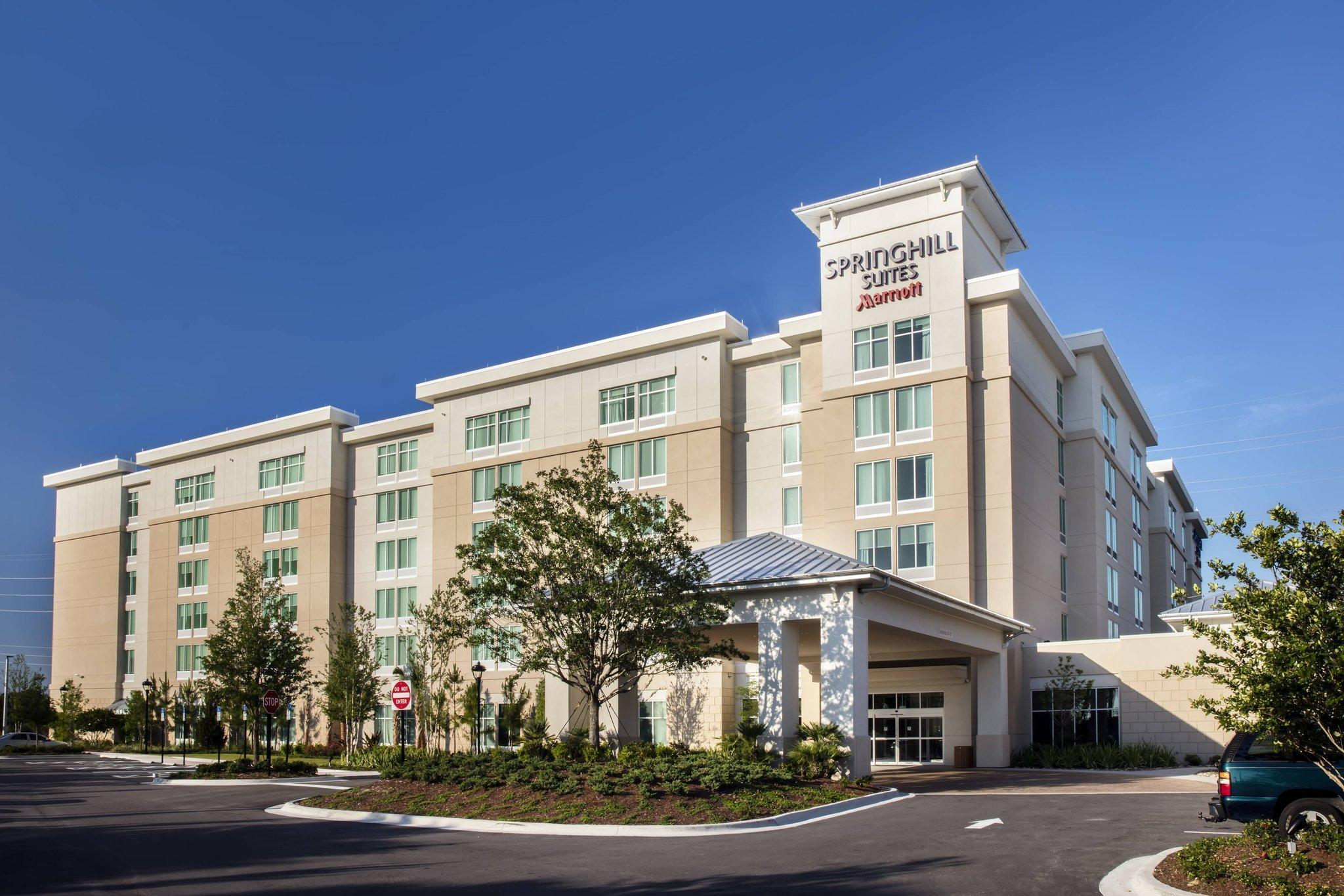SpringHill Suites By Marriott Orlando At FLAMINGO CROSSINGS Town Center Western Entrance