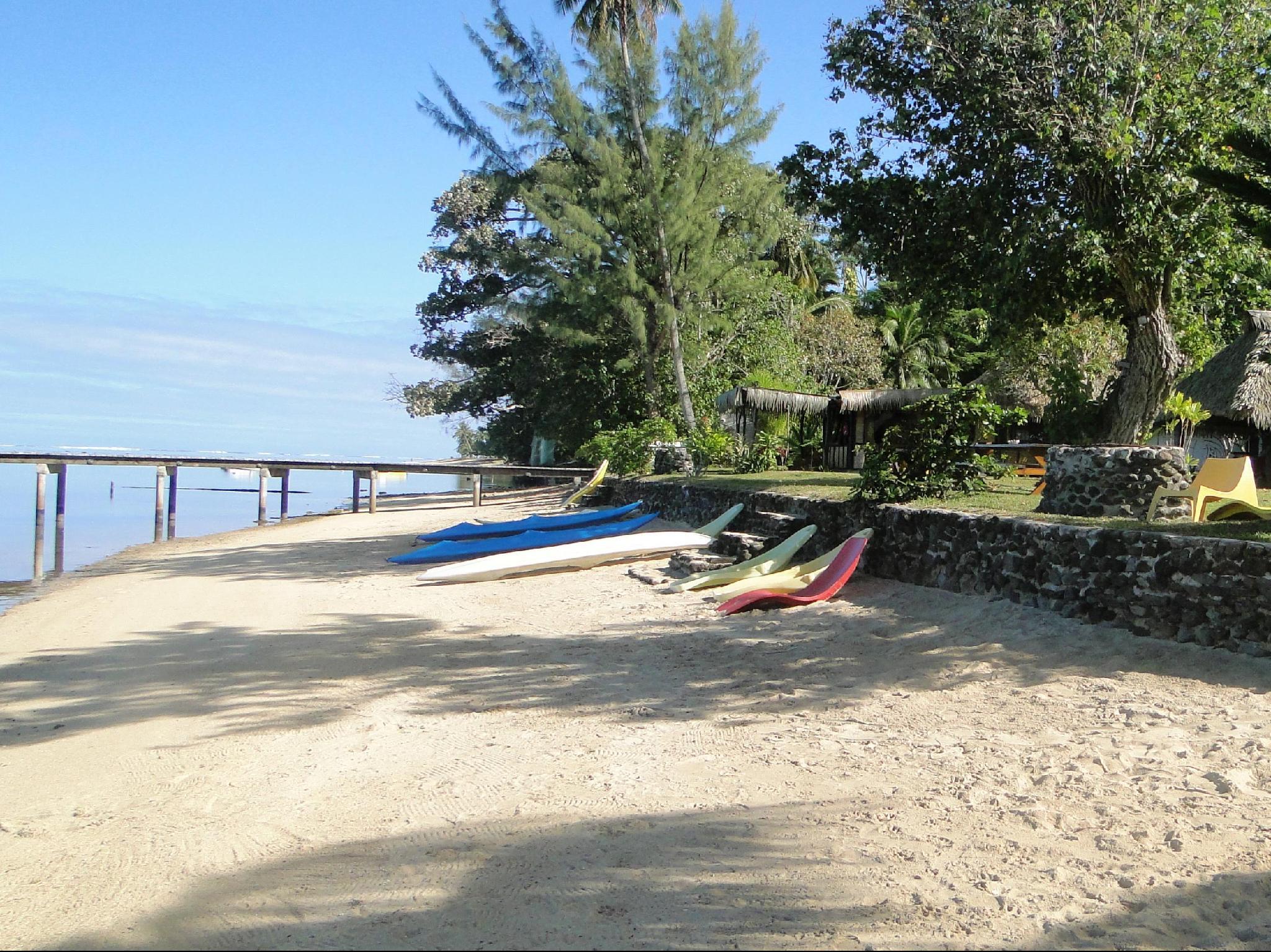 Linareva Moorea Beach Resort Moorea Island French