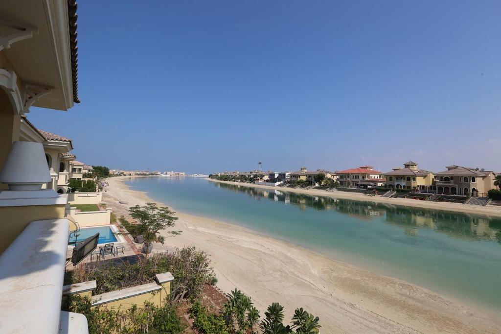 Luxurious Fully Furnished 4 BDR Villa On Palm