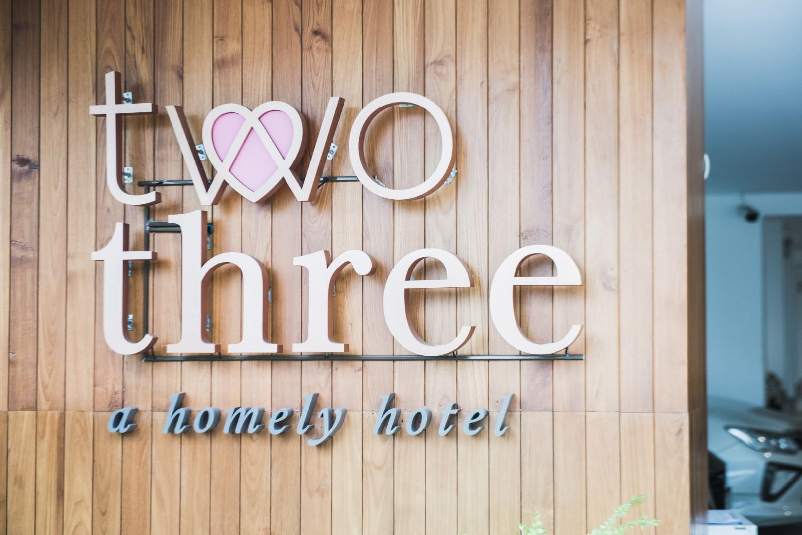 Two Three A Homely Hotel
