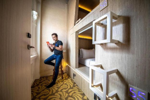 Cube Boutique Capsule Hotel @ Kampong Glam